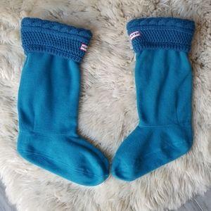 Hunter Original Tall Cable Knit Cuff Boot Socks